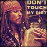 Jack Sparro & his jar of dirt